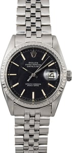 Rolex Stainless Steel Vintage Datejust 1603