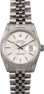 Men's Rolex Datejust 16030 Stainless Steel Jubilee