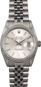 Rolex Datejust 16030 Silver Dial Men's Watch