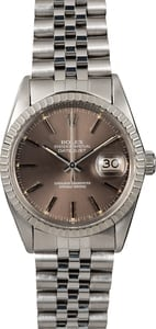 Rolex Datejust 16030 Slate Index Dial TT
