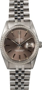 Rolex Datejust 16030 Slate Index Dial