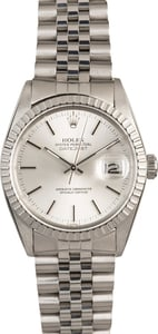 Pre-Owned Rolex Datejust 16030 Silver Dial
