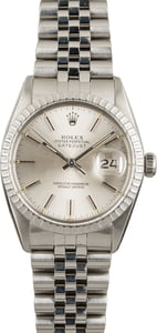 Rolex Datejust 16030 Silver Index Dial
