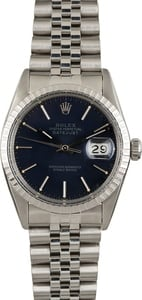 Used Rolex Datejust 16030 Black Dial