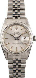 PreOwned Rolex Silver Dial Datejust 16030