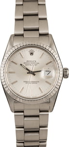 Pre-Owned Rolex Datejust 16030 Silver Dial 36MM Watch