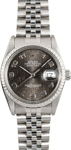 Rolex Datejust 16030 Black Jubilee