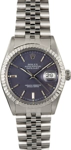 Rolex Datejust 16030 Stainless 100% Authentic
