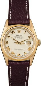 PreOwned Rolex Datejust 16078 Bark Accents