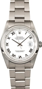 Pre-Owned Men's Rolex Datejust Stainless Steel Watch 16200