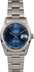Rolex Datejust 16200 Blue Dial