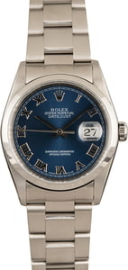 Rolex Datejust 16200 Steel Oyster Band