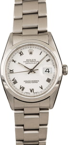 Men's Rolex Datejust Watch 16200 WRO