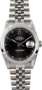 Rolex Datejust Stainless Steel Watch 16200