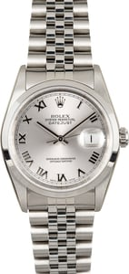 Rolex Datejust 16200 Factory Stickered