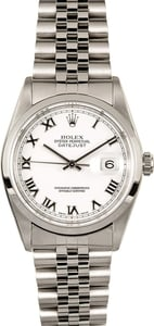 Rolex Datejust 16200 Roman 100% Authentic