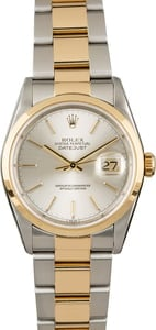 Rolex Datejust 16203 Silver Index Dial