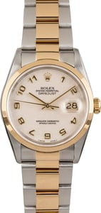 Used Rolex Datejust 16203 Ivory Jubilee Dial