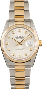 Pre Owned Rolex Datejust 16203 Diamond Dial