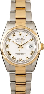 Rolex Datejust 16203 Two Tone Oyster