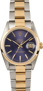 Rolex Datejust 16203 Blue