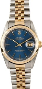 Rolex Datejust 16203 Blue Dial