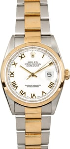 Rolex Datejust 16203 White
