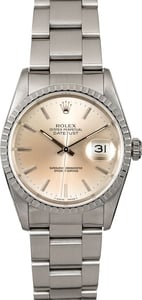Men's Rolex Datejust 16220 Silver
