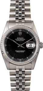 Men's Rolex Datejust 16220 Steel Jubilee