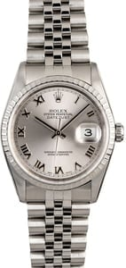 Rolex Datejust 16220 Steel Jubilee Band
