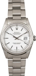 Rolex Datejust 16220 Steel Oyster