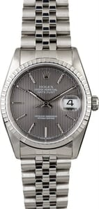 Used Rolex Datejust 16220 Steel Jubilee