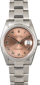 Rolex Datejust 16220 Salmon Dial