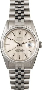 Rolex Datejust 16220 Tiffany & Co Tapestry Dial