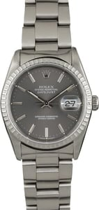 Pre-Owned Rolex Datejust 16220 Steel Oyster