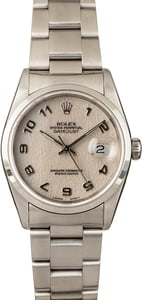 Pre-Owned Rolex DateJust 16200 Ivory Jubilee Dial T