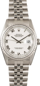 Stainless Steel Rolex Datejust 16220