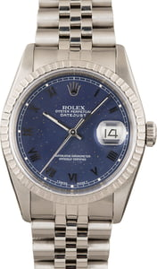 Rolex Datejust 16220 Stainless Jubilee