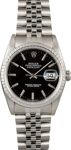Rolex Datejust 16220 Black