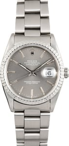 Rolex Datejust 16220 Slate Dial