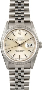 Rolex Datejust 16220 Stainless Steel Bezel