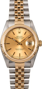 Rolex Datejust 16233 Two-Toned Jubilee