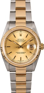 Rolex Datejust 16233 Two-Tone Men's