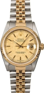Rolex Datejust 16233 Two Tone Jubilee Band