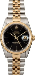 Pre-Owned Rolex Datejust 16233 Two-Tone Jubilee
