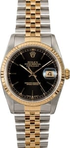 Pre-Owned Rolex Datejust 16233 Champagne Two-Tone