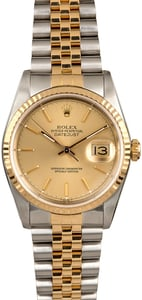 Two Tone Rolex Datejust 16233