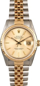 Certified PreOwned Rolex Datejust 16233 Men's Watch