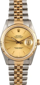 PreOwned Rolex Datejust 16233 Men's Watch