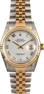Pre Owned Men's Rolex MOP DateJust 16233